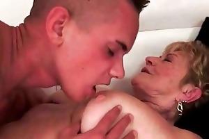 breasty bulky grandmas sex compilation