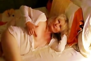 52 years eveline cumming in bedroom