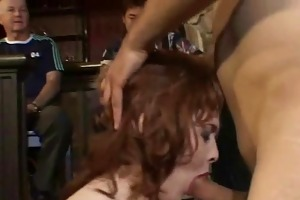 redhead wife receives screwed, okay with hubby!