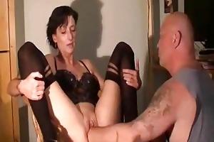 dilettante wife enjoys a massive fisting big o