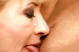 granny and hotty having pleasure