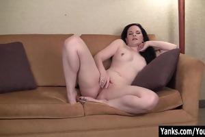 pierced dark brown mother i caroline masturbating