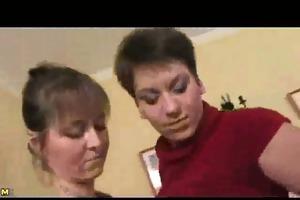 lewd older woman in extraordinary sex