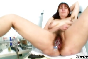 hairy aged mamma acquires her cum-hole part4