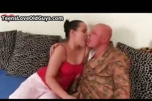 old fellow acquires his hard schlong sucked hard