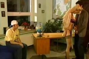 sibylle rauch - german teacher screwed by student