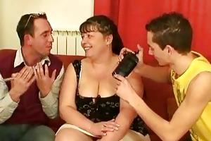 guys interview and fuck the chunky aged doxy