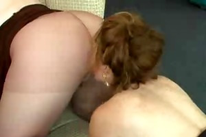 butt eating and hose