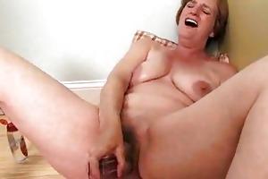 slutty housewife older masturbation