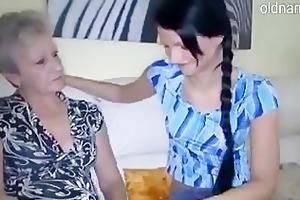 granny and juvenile gal
