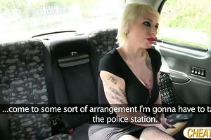 unfathomable throating a jock in the taxi