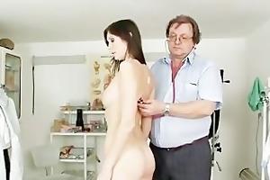 natural breasty playgirl kattie gold muff exam