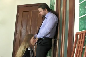 russian secretary - collision break anal