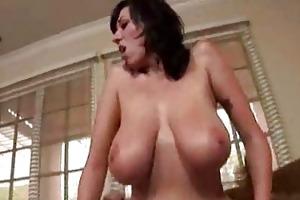 erotic brunette hair mother i riding hard