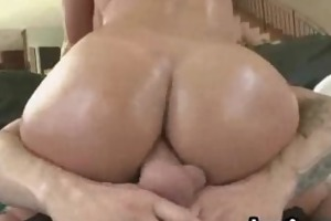 large tit golden-haired mother i gets wazoo fucked