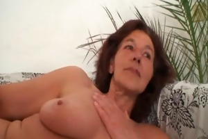 old whore receives group-fucked by juvenile