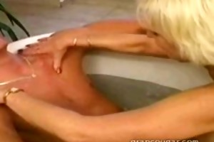 aged playgirl large love bubbles and oral sex sex