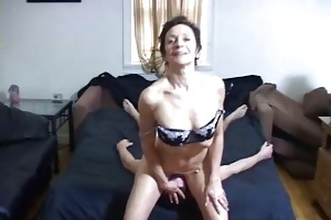 horny old femdom-goddess got a-hole licked by a