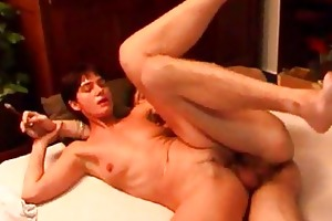 cigar smokin mommy takes rod deep in her booty