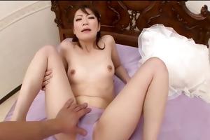 japanese model tomoka sakurai filled with knob
