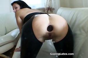 obscene wench goes insane fucking