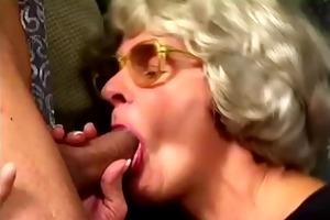 grandma turns into a real doxy