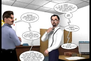 3d comic: malevolent intentions. episode 15
