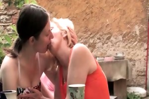 naughty blond and aged lesbos get part5