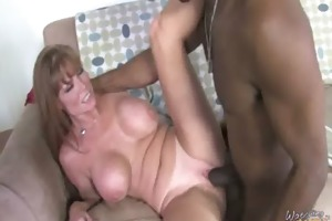sexy mamma receives screwed up interracial 4