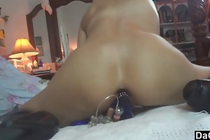 single mama is a secret anal lover