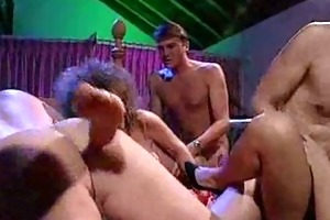 avid oldschool group fuck party