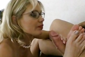 breasty d like to fuck in glasses acquires shoved