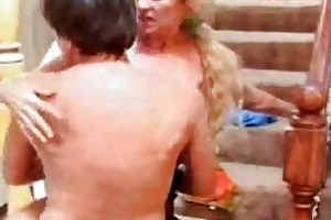 blond milf catherine still squirting at dripping