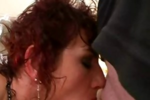 naughty dilettante wife plays with cum in throat