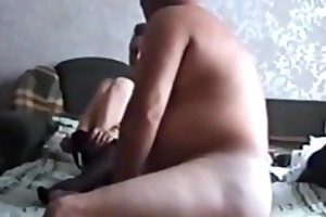 fucking the wife on the bed