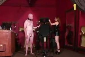 redheaded domina gemini look very intimidating