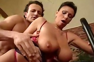 exotic hot looking older acquires the pecker in