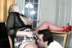 short haired uk mother i receives her love tunnel