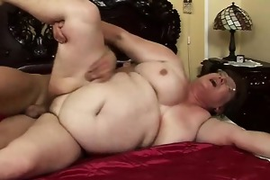 perspired chubby granny rear pussy drilled