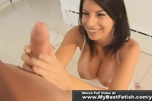 jerk off on tiffany biggest billibongs - cook