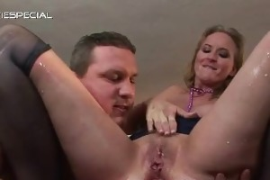 older housewife getting all her holes filled part5