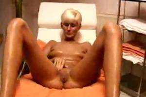 blond mother i masturbates