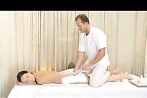 massage rooms aged woman with hirsute cookie