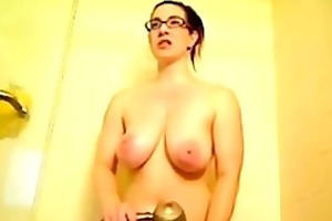 d like to fuck with glasses in shower