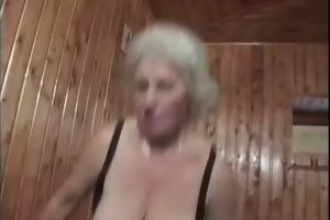 a slutty granny fuckbitch