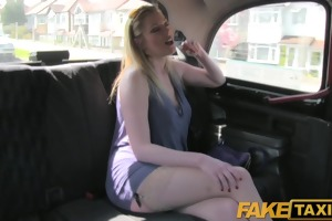 faketaxi indecent british cougar is cheerful to