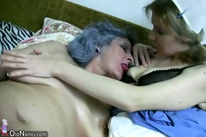 some granny and old woman