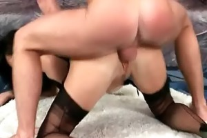 wicked sexy darksome haired d like to fuck wench