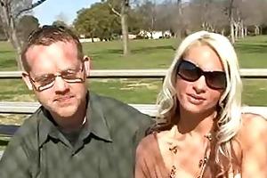 hot blonde wife bangs recent rod