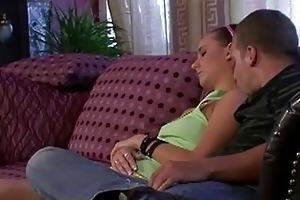 sexually excited mamma licks sleeping girlfri...